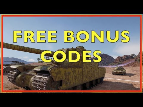 WOT - Free Bonus Code Give Away   World of Tanks