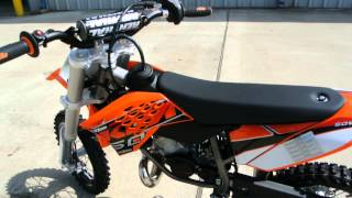 2. $3,849: 2014 KTM 50 SX   Overview and Review
