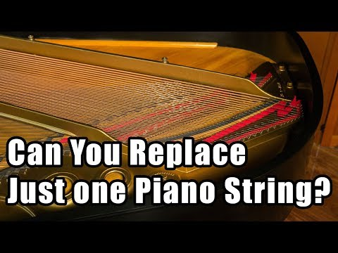 Can You Replace Just one Piano String?