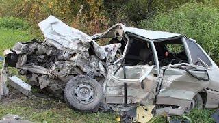 Жесткие аварии второй недели Сентября 2015