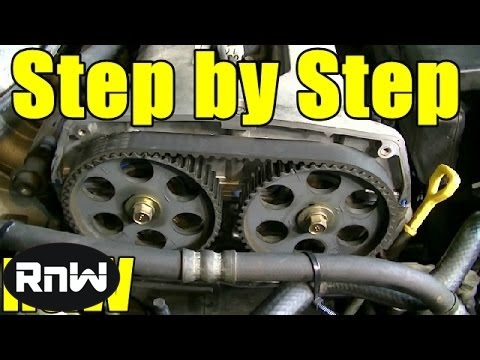 Kia Spectra Timing Belt Replacement – 1.8L DOHC Engine Part 1