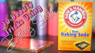 10 Beauty Tricks Using Baking Soda ♡ - YouTube