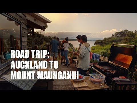 New Zealand road trip from Auckland to Mount Maunganui