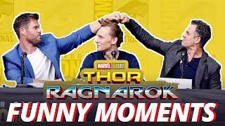 Video Thor: Ragnarok Cast - Best Funny Moments (2017) MP3, 3GP, MP4, WEBM, AVI, FLV Mei 2018