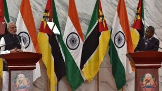 Maputo Mozambique  city photos gallery : PM Modi's speech at the Joint Press Statements in Maputo, Mozambique