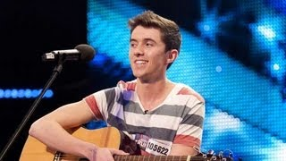 Video Ryan O'Shaughnessy - No Name - Britain's Got Talent 2012 audition - UK version MP3, 3GP, MP4, WEBM, AVI, FLV Maret 2019