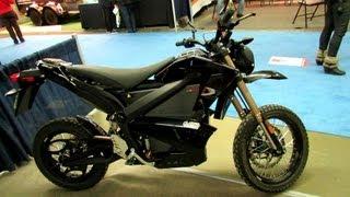 7. 2012 Zero DS Electric Motorcycle Walkaround - 2013 Montreal RV Show