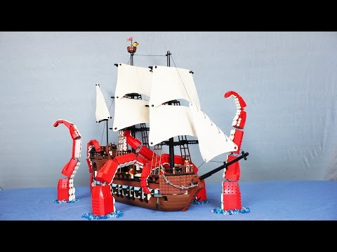 The LEGO Kraken (видео)