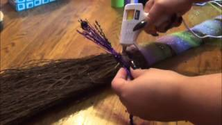 How to Decorate Your Broom/Besom - YouTube