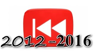 "Video Rewind ""Rewind YouTube"" 2012 - 2016 