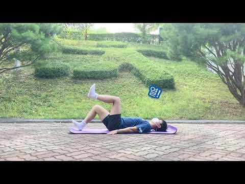 [근력운동] 따라하기 쉬운 복근운동 (의정부시장애인체육회 김선우 지도자)