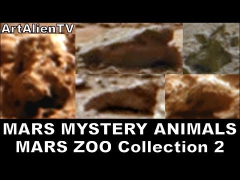 MARS ZOO Collection 2: Life on Mars: Mystery Alien Animals: NASA Curiosity Rover. ArtAlienTV 720p
