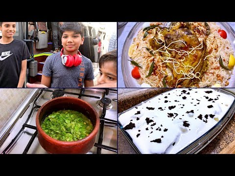 One Fine Friday || Rehan coming back after a week | Simple Lunch Menu & Chef's Dinner