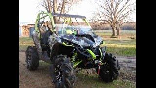 6. TEAM B.A.M.F :First mud ride with the Maverick XMR.