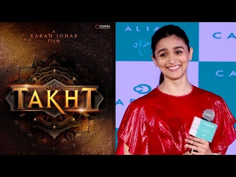 Alia Bhatt REACTS On Bagging TAKHT And The Controv