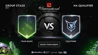 Team Baidu vs VGJ.Storm, The International NA QL [Jam, Maelstorm]