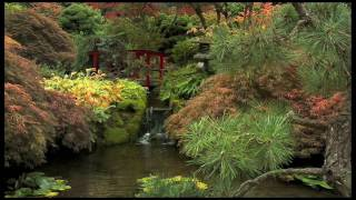 Initial frame of Butchart Gardens video