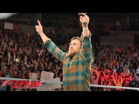 Watch WWE Superstar Daniel Bryan Retire