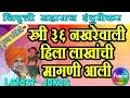Indurikar Maharaj Comedy Kirtan 2017|  स्त्री ३६ नखरेवाली  | Nivrutti Maharaj indurikar kirtan