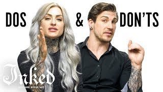 Video Tattoo Dos and Don'ts With Ryan Ashley and Arlo | INKED MP3, 3GP, MP4, WEBM, AVI, FLV Desember 2018