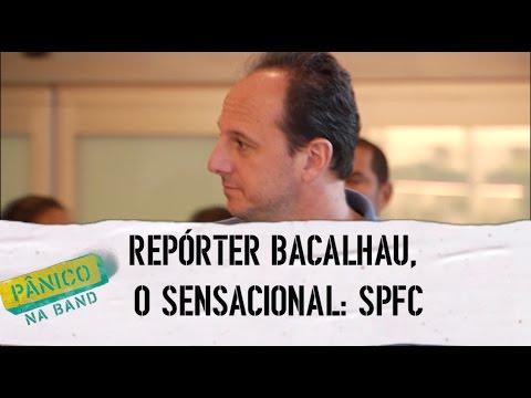 Pânico na Band - REPÓRTER BACALHAU: A POLÊMICA ATITUDE DO JOGADOR RODRIGO CAIO