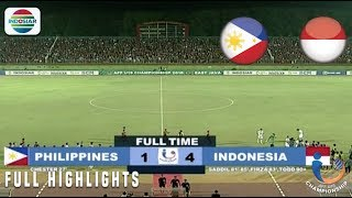 Video Filipina (1) vs (4) Indonesia - Full Highlight | AFF U19 Championship MP3, 3GP, MP4, WEBM, AVI, FLV Mei 2019