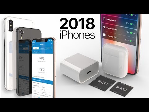 2018 iPhone Specs, Geekbench, USB-C Charger  AirPods 2 Leak!