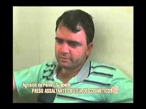 Preso assaltante de loja de cosméticos em Inhapim