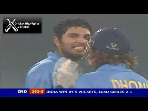 India vs Pakistan 3rd ODI 2006 Hutch Cup Cricket Highlights