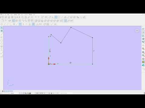 Autodesk PowerShape 2017 - What's New - Constraint Sketching