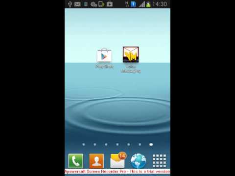 Video of Voice Messaging