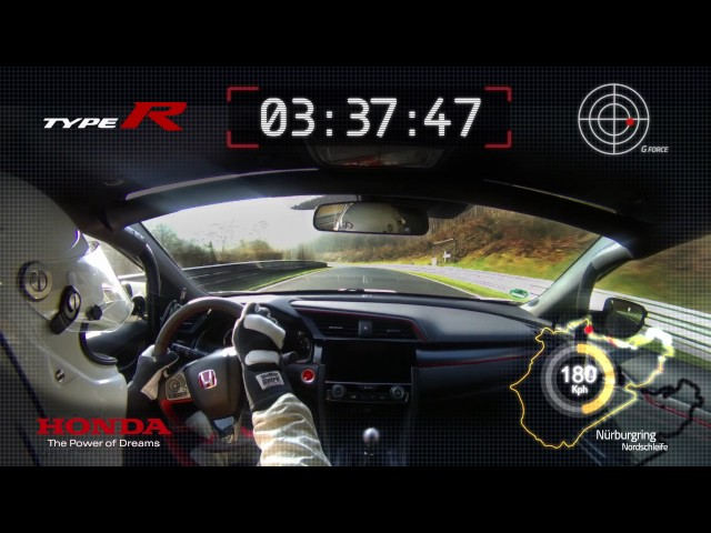 "The 2017 Civic Type R – ""Hot Lap"""