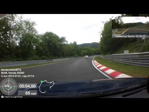 Nurburgring driver training with instructor Honda S2000