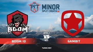 BOOM ID vs Gambit Esports (карта 2), OGA Dota PIT Minor 2019, | Групповой этап