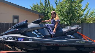 10. 10 YEAR OLD GETS A JET SKI FOR HER BIRTHDAY -  2018 Yamaha FX CRUISER SVHO