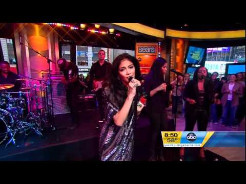 Nicole Scherzinger - Don39t Hold Your Breath Live On Good Morning America HD