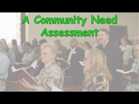 """A COMMUNITY NEED ASSESSMENT – Part 5: """"From Transformation To Teamwork"""""""
