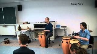 Percussion workshops for Cuban rhythms pt.2