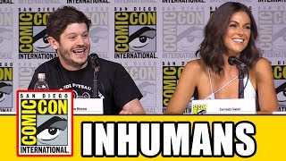 "Marvel's Inhumans Comic Con Panel news & highlights.Subscribe for more! ► http://bit.ly/FlicksSubscribeN.B. Footage, clips, previews, trailers & sneak peeks shown at Comic Con panels are not included in this video, as these are not allowed to be filmed. RELATED VIDEOS--------------Dr Doom Comic Con Announcement ► http://youtu.be/cZvZUnBXTboPLAYLISTS YOU MIGHT LIKE------------------------Marvel ► http://bit.ly/MarvelVideosDC ► http://bit.ly/DCVideosFox Marvel Movies ► http://bit.ly/FoxMarvelVideosStar Wars ► http://bit.ly/StarWarsVidsMovie Deleted Scenes & Rejected Concepts ► http://bit.ly/MovieDeletedScenesEaster Eggs ► http://bit.ly/EasterEggVideosAmazing Movie Facts ► http://bit.ly/ThingsYouDidntKnowVideosPixar ► http://bit.ly/PixarVideosDisney Animation ► http://bit.ly/DisneyAnimationVideosSOCIAL MEDIA & WEBSITE----------------------Twitter ► http://twitter.com/FlicksCityFacebook ► http://facebook.com/FlicksAndTheCityGoogle+ ► http://google.com/+FlicksAndTheCityWebsite ► http://FlicksAndTheCity.comThanks to Comic Con International http://www.comic-con.org/A new ""Marvel's Inhumans"" trailer was revealed today at SDCC. The highly anticipated new Marvel television series will bring the fan-favorite comic book series and a new kind of family drama to the small screen this fall on ABC. The network series premiere, including the first two episodes of ""Marvel's Inhumans,"" will air FRIDAY, SEPTEMBER 29 (8:00-10:00 p.m. EDT), on The ABC Television Network.The legendary comic book series will be brought to life in a way that has never been done before, as a version of the first two episodes will be shown globally in IMAX theatres for a two-week period, beginning September 1, 2017. ABC will then air the entirety of the series throughout this fall on the network, with additional exclusive content that can only been seen on ABC.""Marvel's Inhumans"" explores the never-before-told epic adventure of the royal family including Black Bolt, the enigmatic, commanding King of the Inhumans, with a voice so powerful that the slightest whisper can destroy a city. After the Royal Family of Inhumans is splintered by a military coup, they barely escape to Hawaii where they are greeted with surprising interactions with the lush world and humanity around them. Now they must find a way to reunite with each other and return to their home before their way of life is destroyed forever.Cast and charactersAnson Mount as Black BoltIwan Rheon as MaximusSerinda Swan as MedusaEme Ikwuakor as GorgonIsabelle Cornish as CrystalKen Leung as KarnakEllen Woglom as LouiseSonya Balmores as AuranMike Moh as TritonCrystal's 2,000-pound (910 kg) teleporting canine companion Lockjaw also appears in the series, created through CGI."