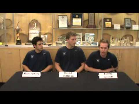 Yale Men's Tennis vs. MTSU Press Conference