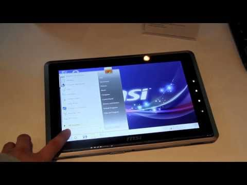 Hands On with the MSI WindPad 110W AMD Brazos Tablet