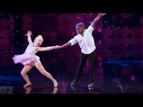 America's Got Talent 2017 Artyon & Paige Performance & Comments Judge Cuts S12E11