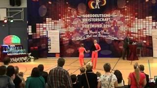 Rebekka Stahl & Daniel Langer - Norddeutsche Meisterschaft 2014