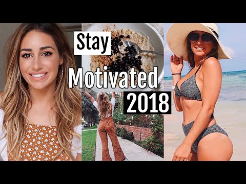 How I Get Motivated to Eat Healthy + Workout (after feeling lazy) 2018