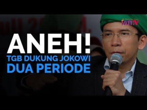 Aneh! TGB Dukung Jokowi Dua Periode