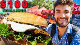 Video $100 STREET FOOD CHALLENGE in NYC! MP3, 3GP, MP4, WEBM, AVI, FLV Juli 2019