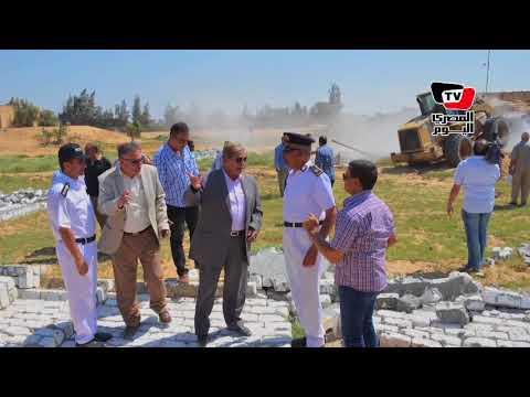 محافظ الإسماعيلية يقود حملة لإزالة التعديات في رابع أيام عيد الأضحى