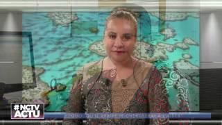 Claude Grison à la Fête de la Science en Nouvelle-Calédonie