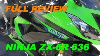 3. 2013 Kawasaki NINJA ZX6R 636 Review - My Personal Review & Comparison