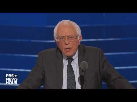 Berni Sanders podržao Hilari Klinton na konvenciji